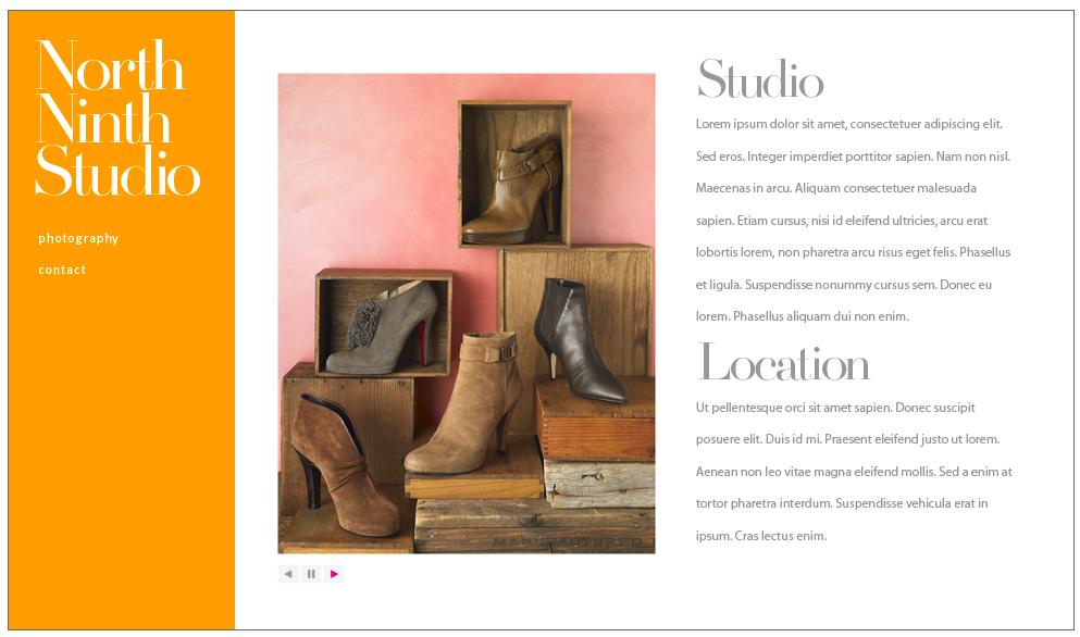 North Ninth Studio - Website Design