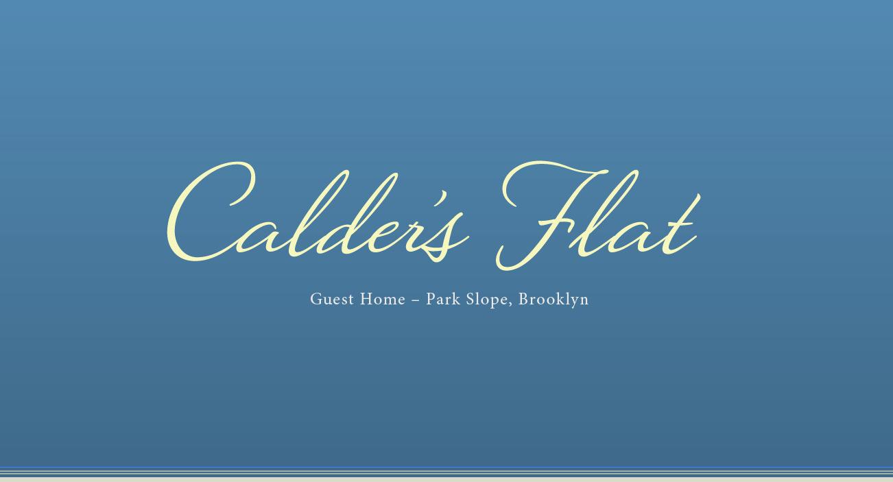 logo calders flat