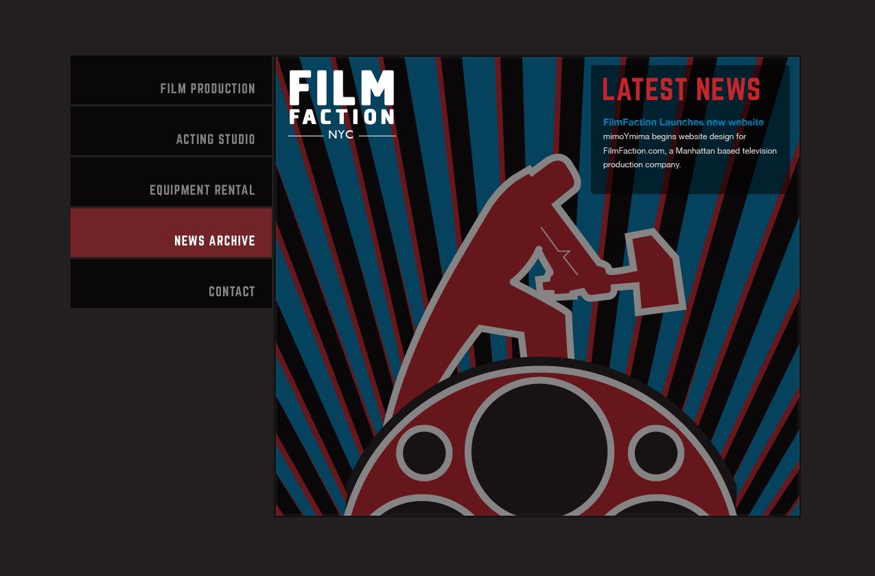film-faction_website-design
