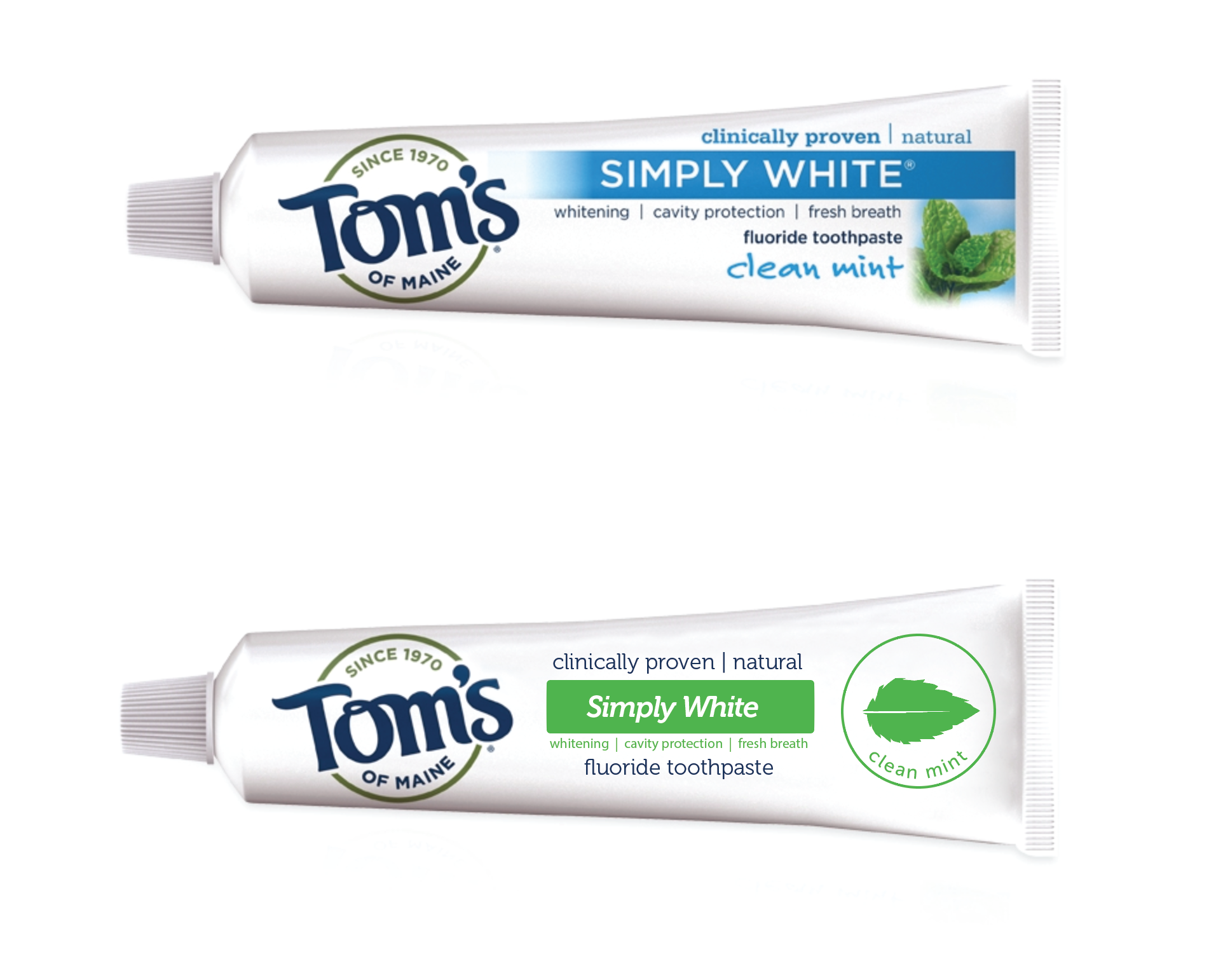 Toms of Maine Packaging - redesigned